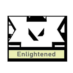Valorant title · Enlightened