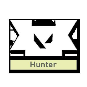 Valorant title · Hunter