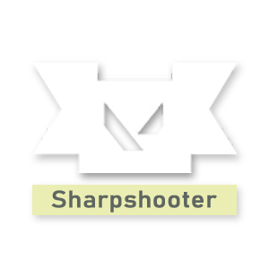 Valorant title · Sharpshooter