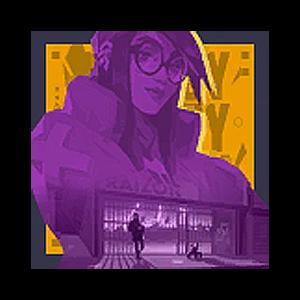 Valorant Player Card · Nächtelang