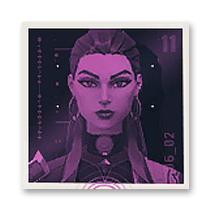 Valorant Player Card · Reyna ID