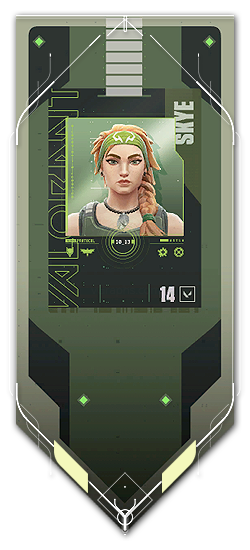 Skye player card · Skye ID