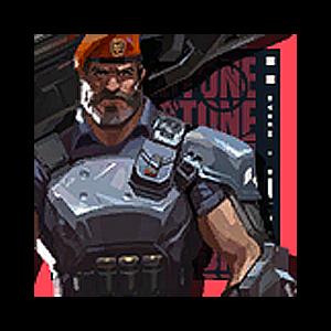 Valorant Player Card · Valorant Brimstone
