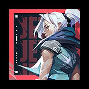 Valorant Player Card · Valorant Jett