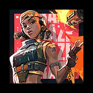 Valorant Player Card · Valorant Raze
