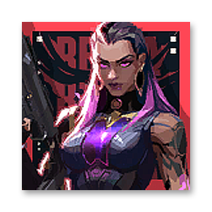 Valorant Player Card · Valorant Reyna