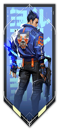 Yoru player card · Valorant Yoru