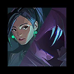 Valorant Player Card · Versus // Omen + Sage