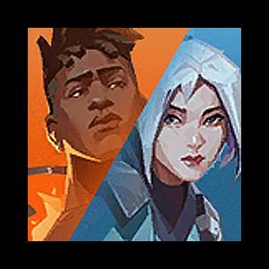 Valorant Player Card · VERSUS // Phoenix + Jett