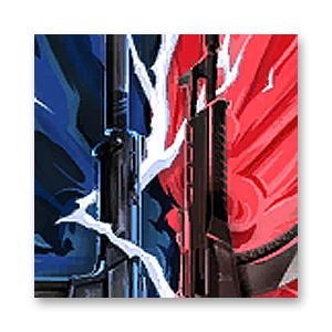 Valorant Player Card · VERSUS // Vandal + Phantom