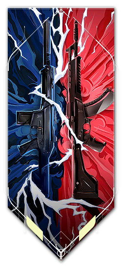 Vandal player card · VERSUS // Vandal + Phantom