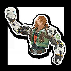 Valorant spray · Alas, Poor Robot!