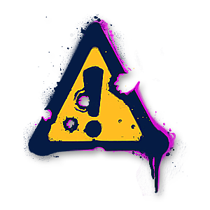 Valorant in-game spray · Danger