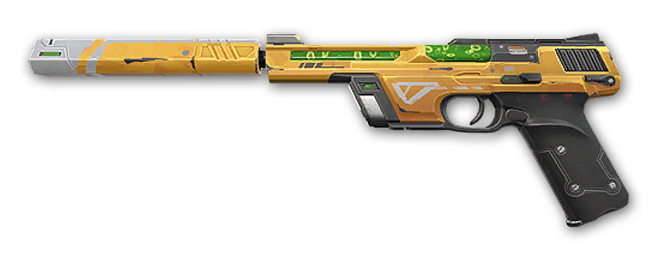 Outpost Ghost · Valorant weapon skin