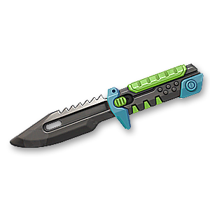 Valorant Melee skin · BlastX Polymer KnifeTech Coated Knife · Variant 1 Black