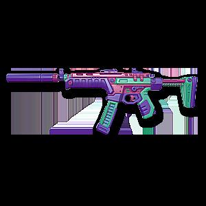 Valorant Spectre skin · BlastX Spectre · Variant 3 Pink