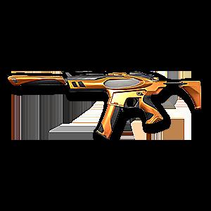 Valorant Spectre skin · Infinity Spectre · Variant 2 Yellow