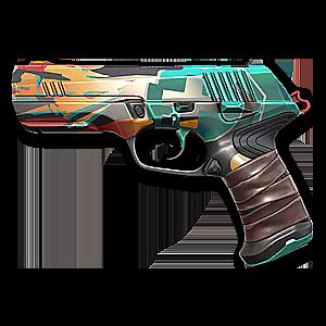 Valorant Pistolinha weapon skin
