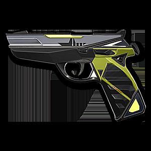 Valorant Classic skin · Prime Classic · Variant 3 Yellow