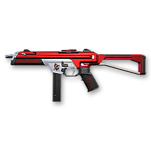 Valorant Red Alert weapon skin