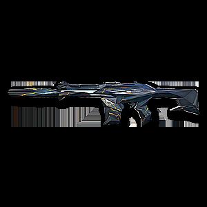 Valorant Phantom skin · Singularity Phantom · Variant 1 Blue
