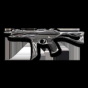 Valorant Stinger skin · Sovereign Stinger · Variant 2 Silver