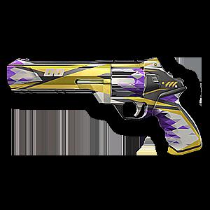 Valorant Sheriff skin · Surge Sheriff · Variant 2 Yellow