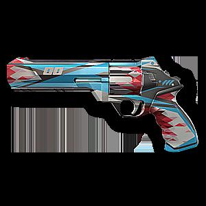 Valorant Sheriff skin · Surge Sheriff · Variant 3 Blue
